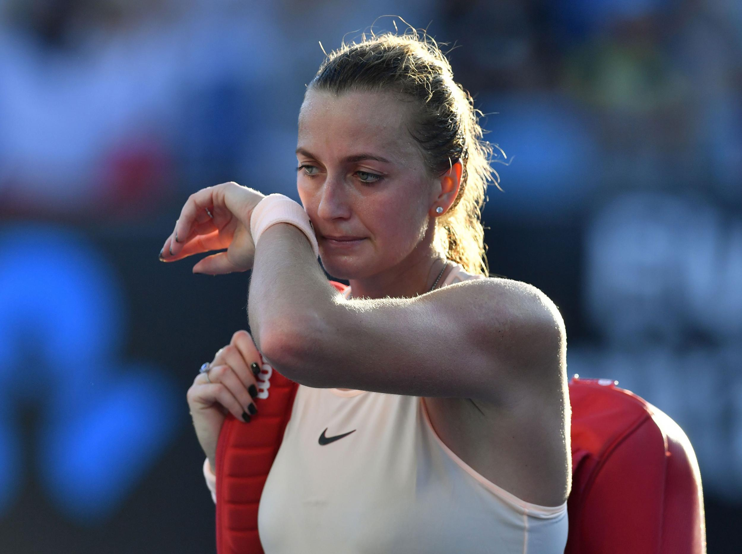 Australian Open  Petra Kvitova Out But Maria Sharapova Cruises Through The Independent