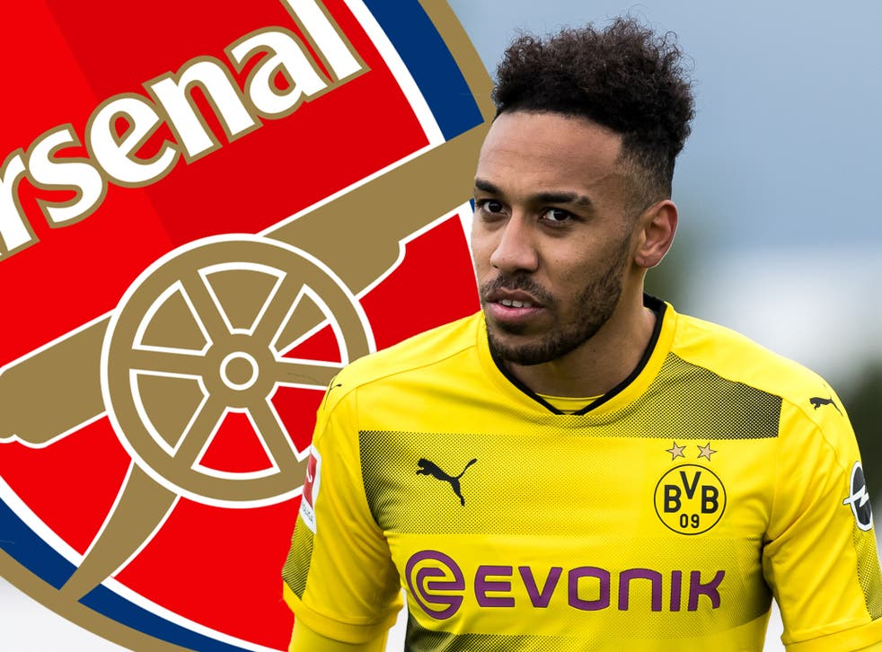 Pierre-Emerick Aubameyang is nearing a move to Arsenal