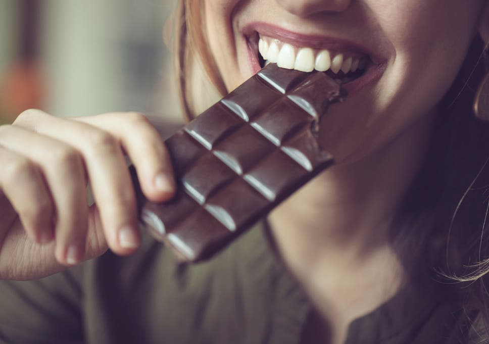 Why women crave chocolate on their periods according to a dietician