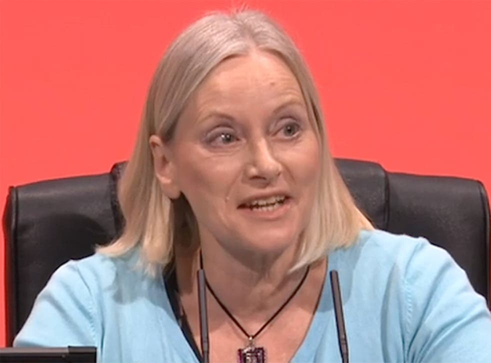 Christine Shawcroft is on the steering committee at Momentum