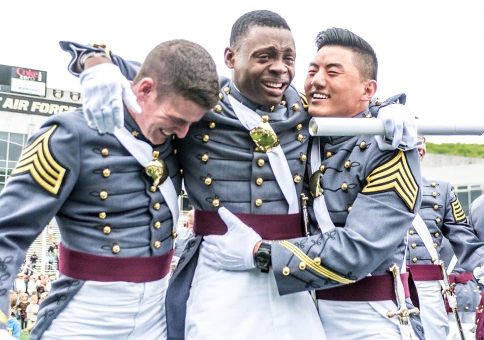 Haiti Born West Point Graduate Explains Tear Filled Photo During