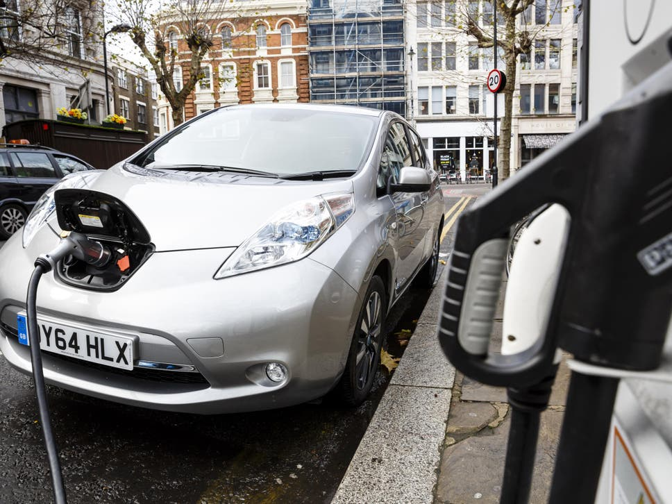 A new report says most new cars and vans should be electric by 2030 if the UK is to meet legal targets to cut emissions