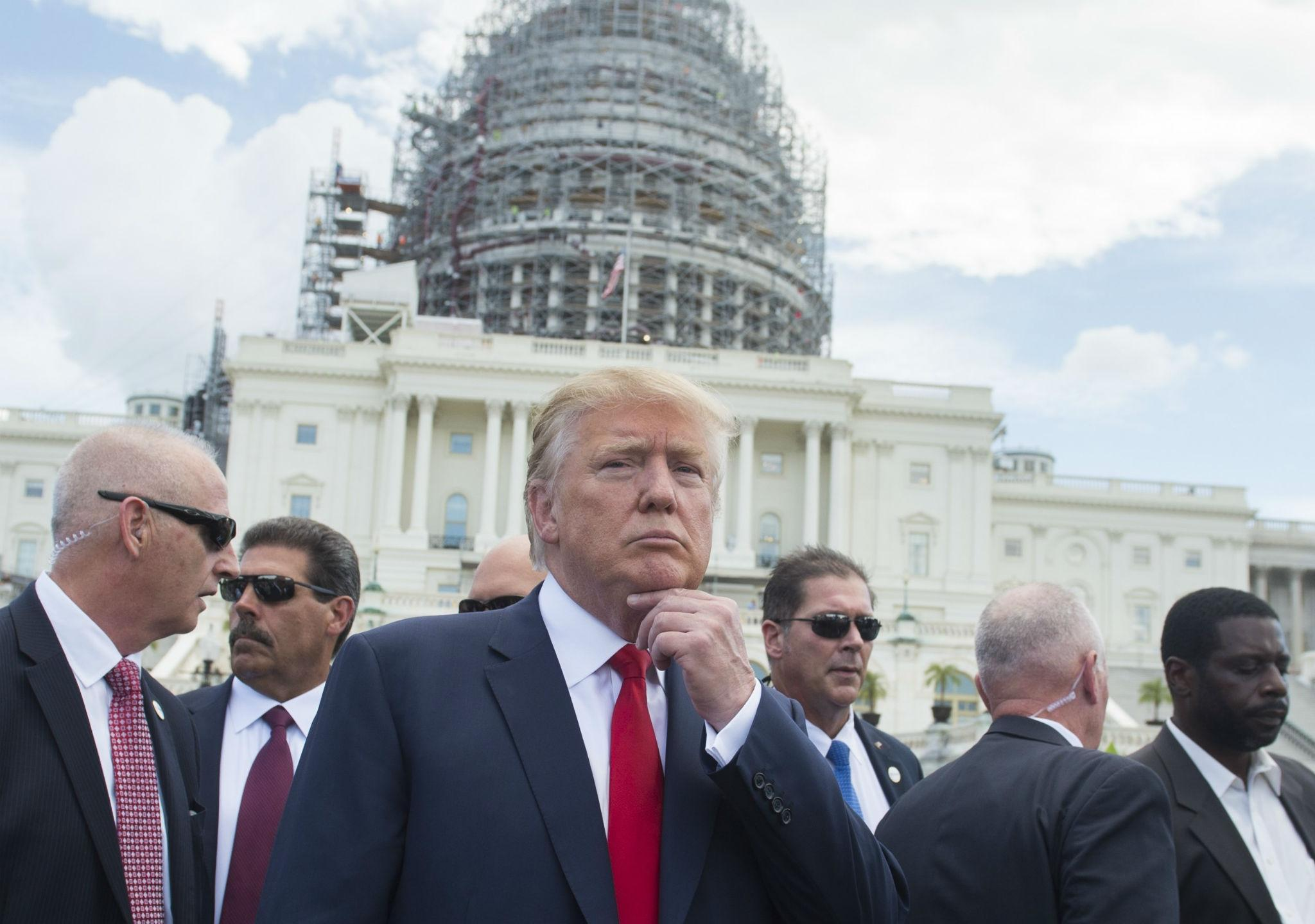 The biggest dramas and battles that have defined Trump's year on Capitol Hill