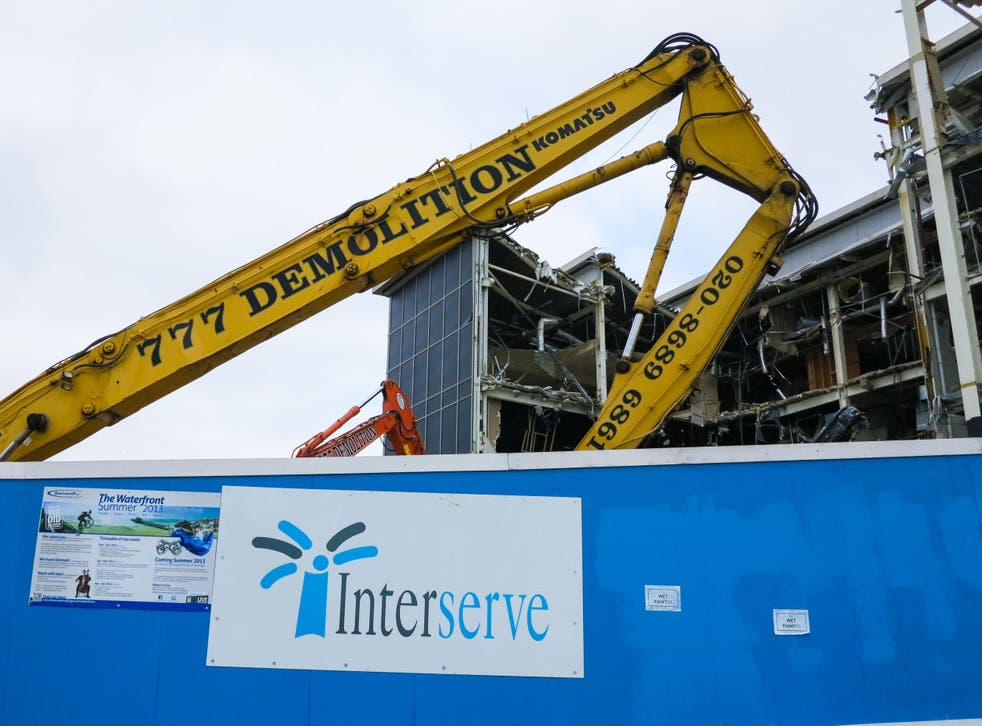 Interserve: The Cabinet Office has sought to reassure over the contractor's financial health