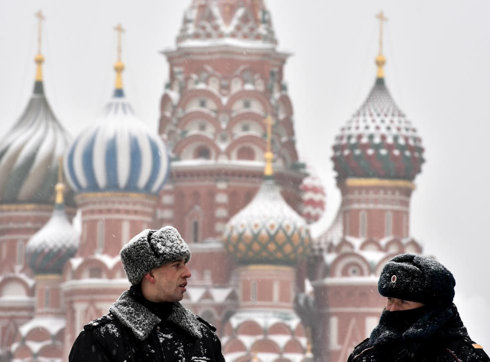 After a warm start to winter, the weather has turned cold in Moscow