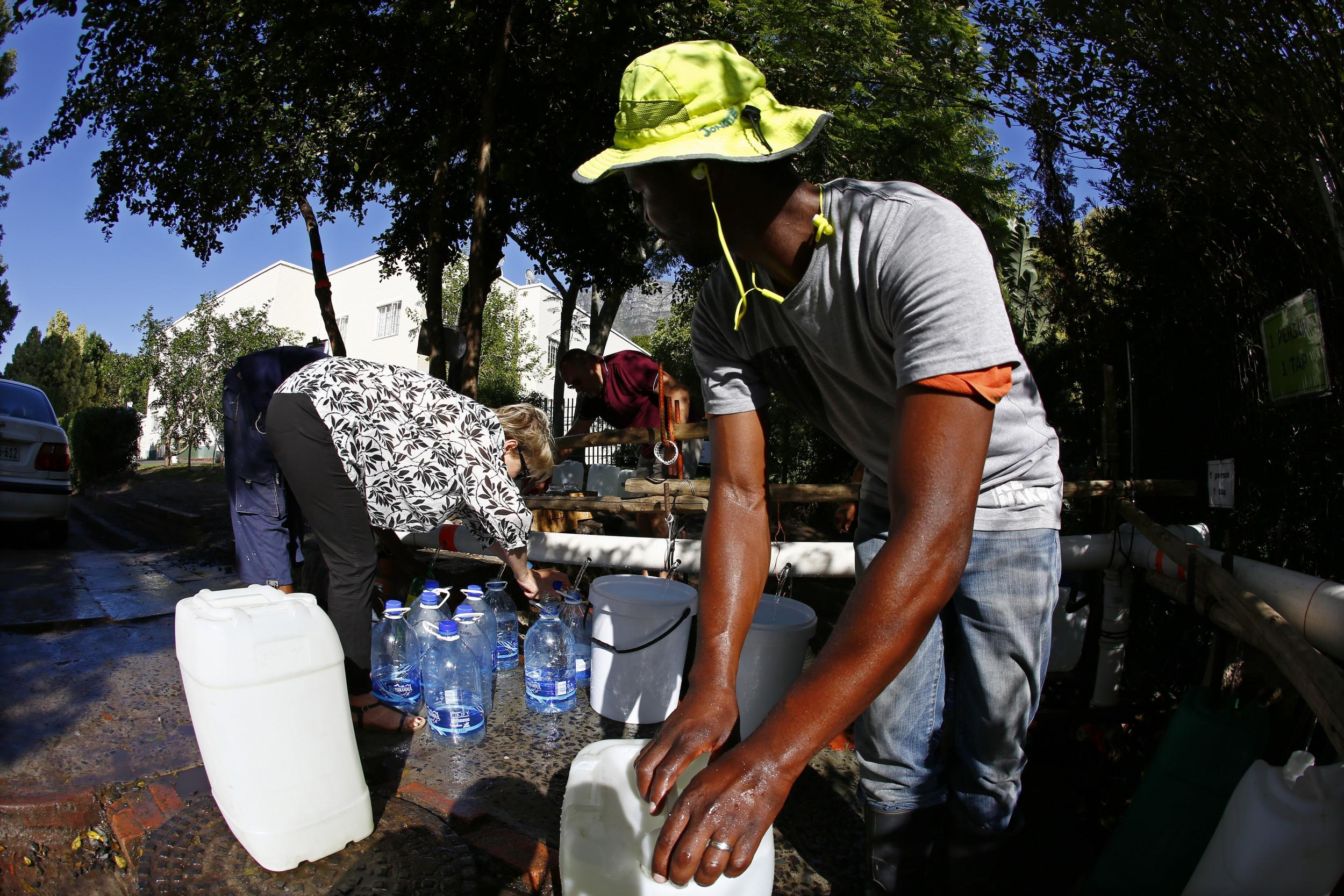 Cape Town drought: City beyond 'point of no return' and will run out of water in April, warns mayor