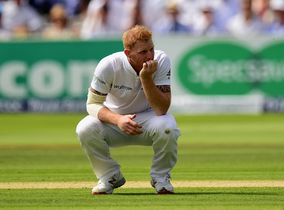 Ben Stokes is still building up match fitness