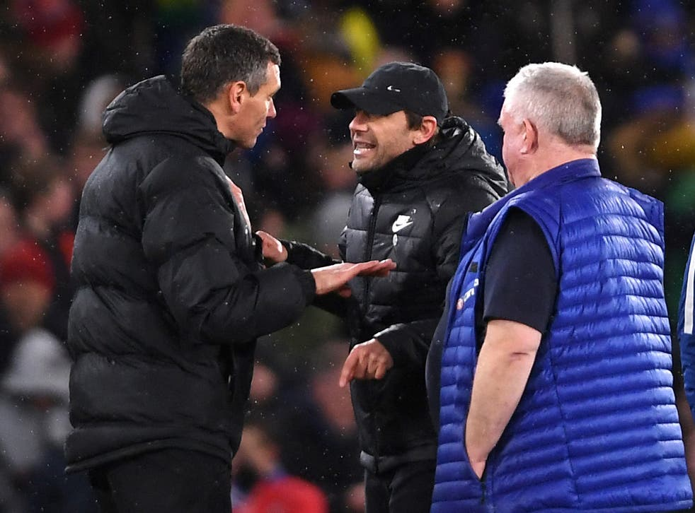 Conte was furious despite the shoot-out victory