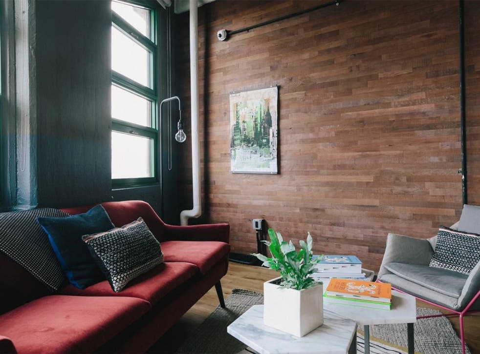 Reclaimed wood siding is becoming popular, but don't limit it to the floors