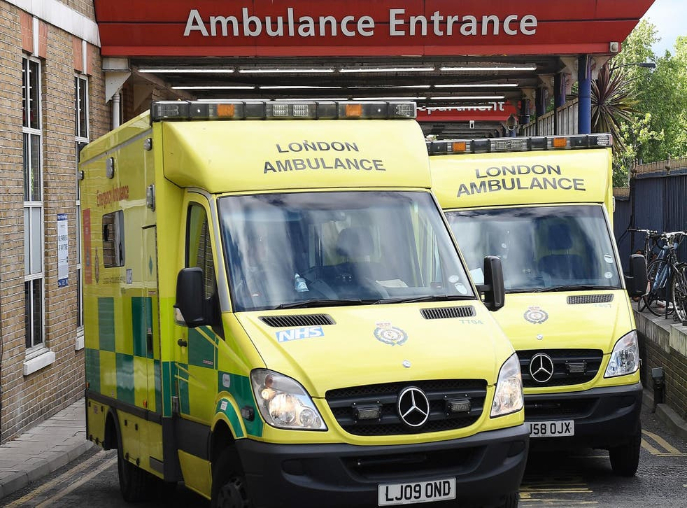Ambulances had to queue outside A&E in record numbers last winter but summer brought no respite to emergency pressures, figures show