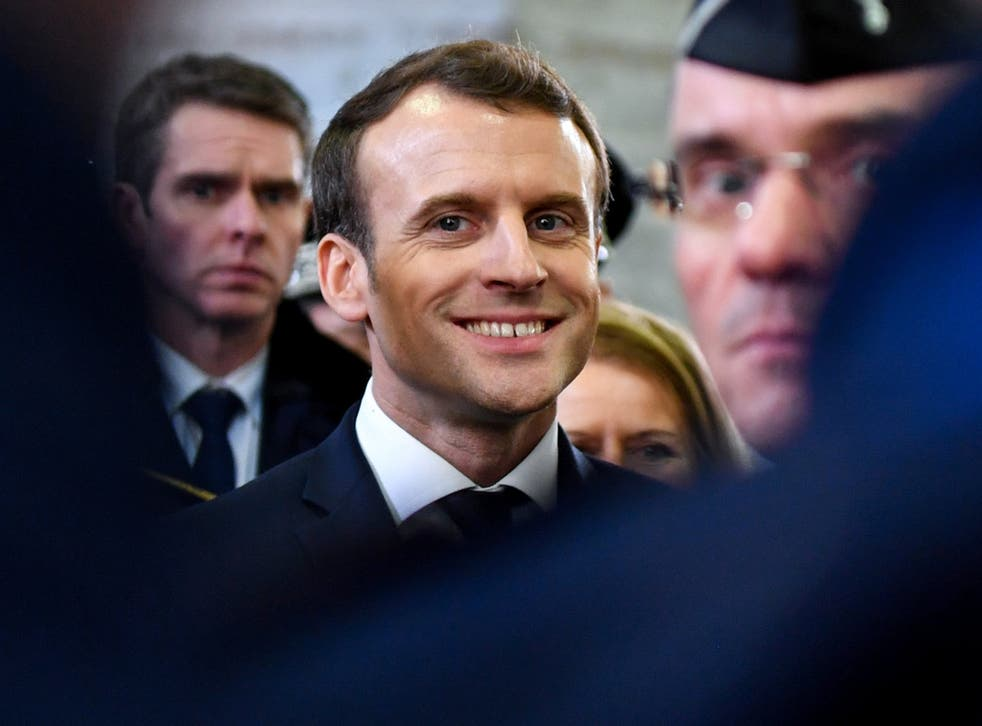 There is an undoubted arrogance about Macron. No one is better pleased with him than himself