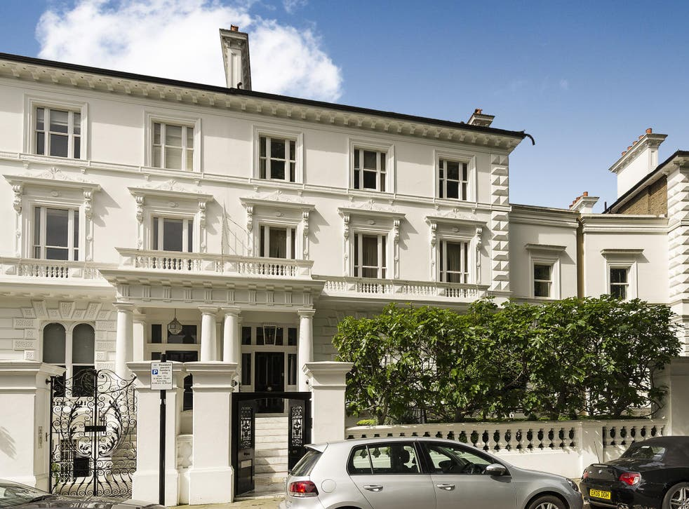 The grand Victorian property is around ten times the size of the average home