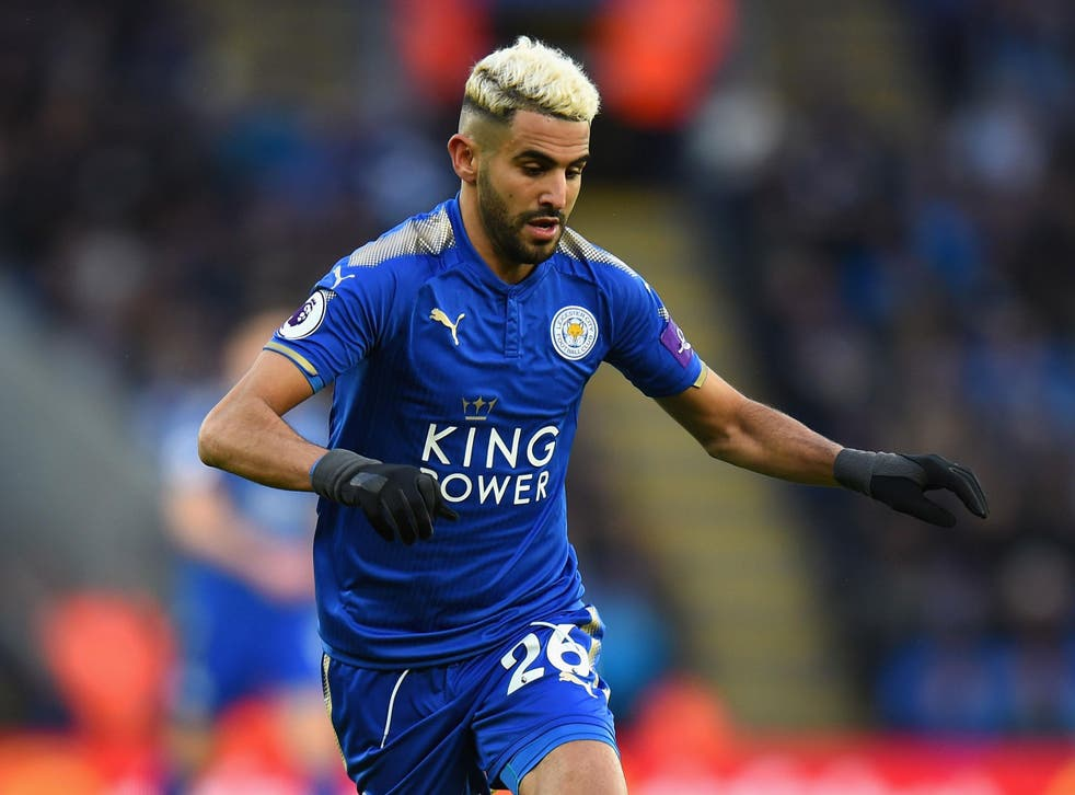 Mahrez is thought to want a move to Manchester City