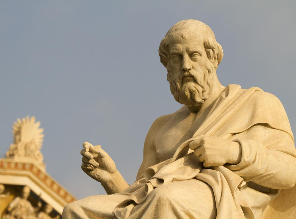 Hamza Bin Walayat's claim was rejected because he did not know enough about Plato (pictured) and Aristotle