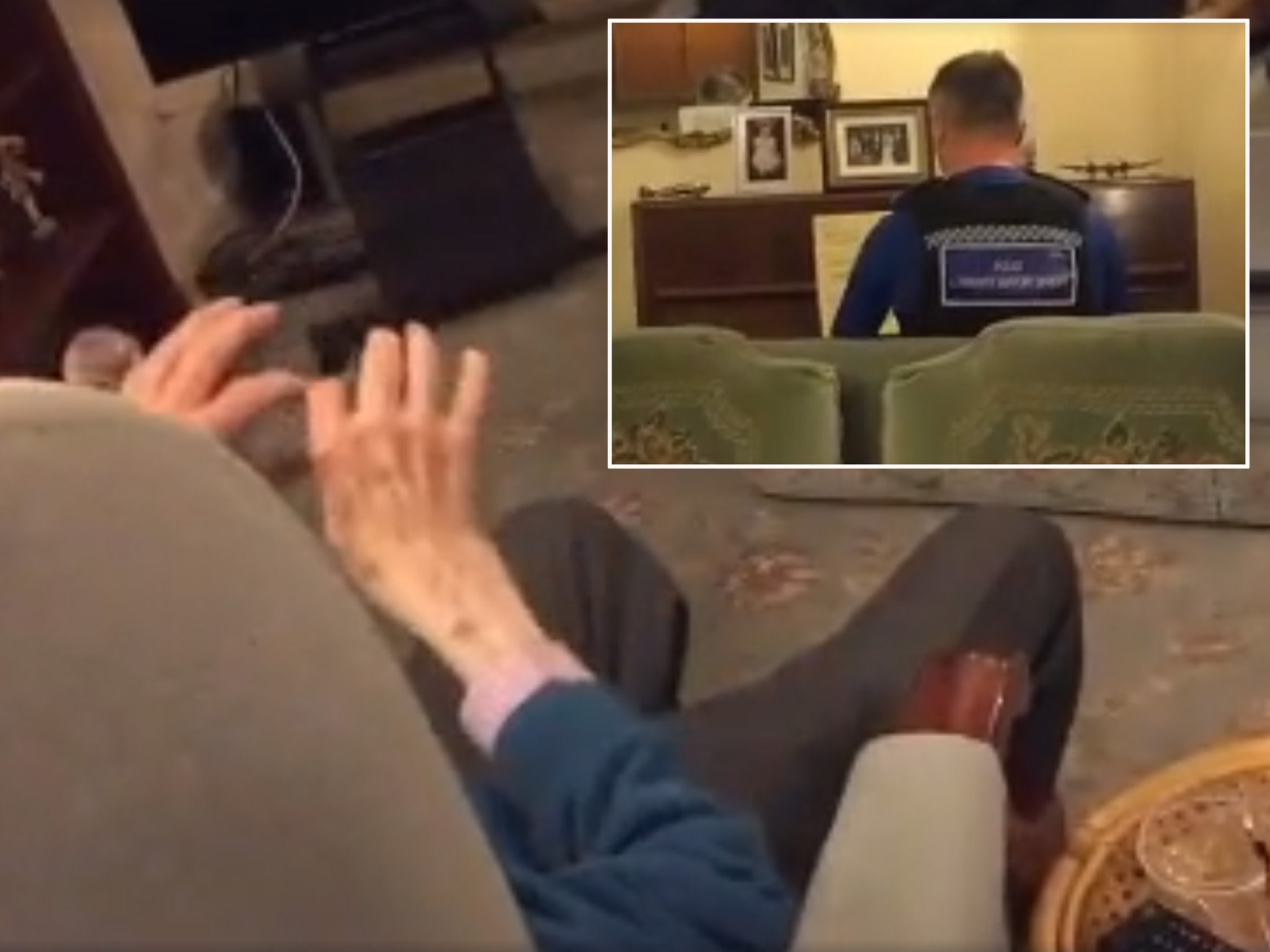 Policeman visits 93-year-old man who was burgled, ends up playing him his favourite piece on the piano and it is utterly beautiful