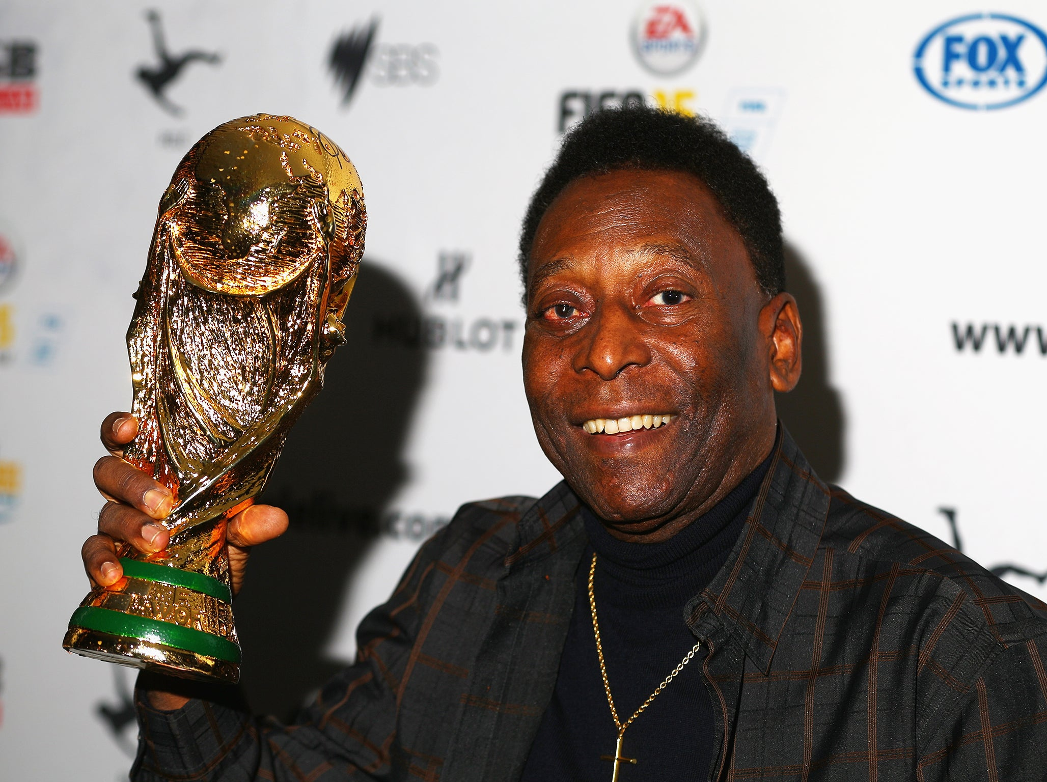 Pele Collapses Brazil Football Legend Hospitalised Due To