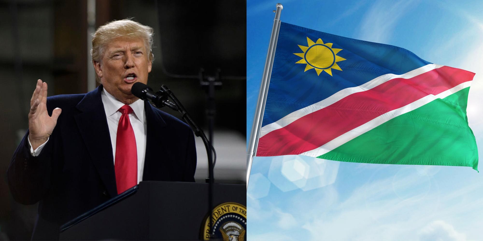 Namibia is using Trump's alleged sh**hole comments in the ...
