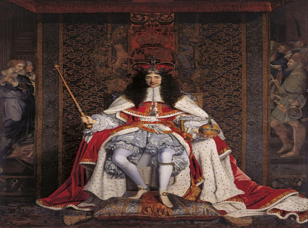 'Charles II' (1671) by John Michael Wright, part of the Royal Collection