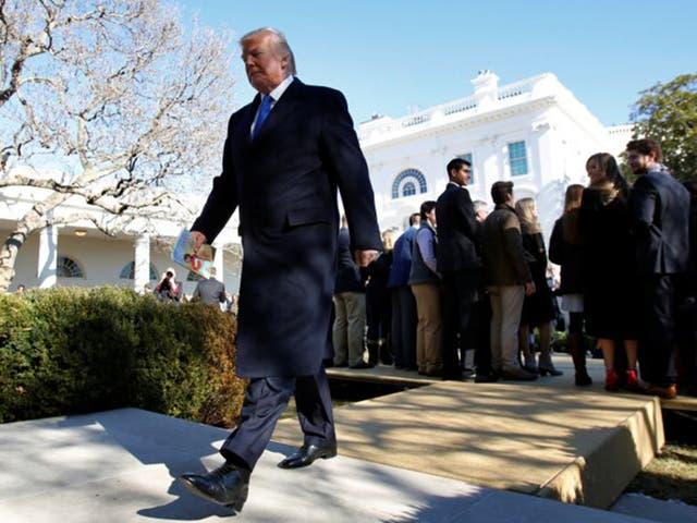Trump has used shutdown to encourage people to vote for more Republican senators