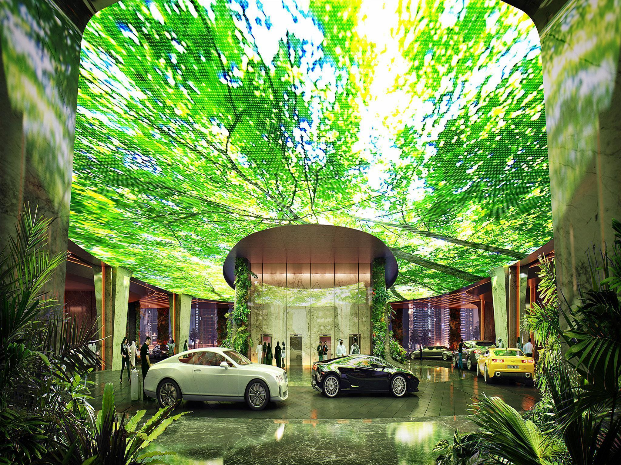 Dubai is building the world's first hotel with its own rainforest – here's what it's like inside