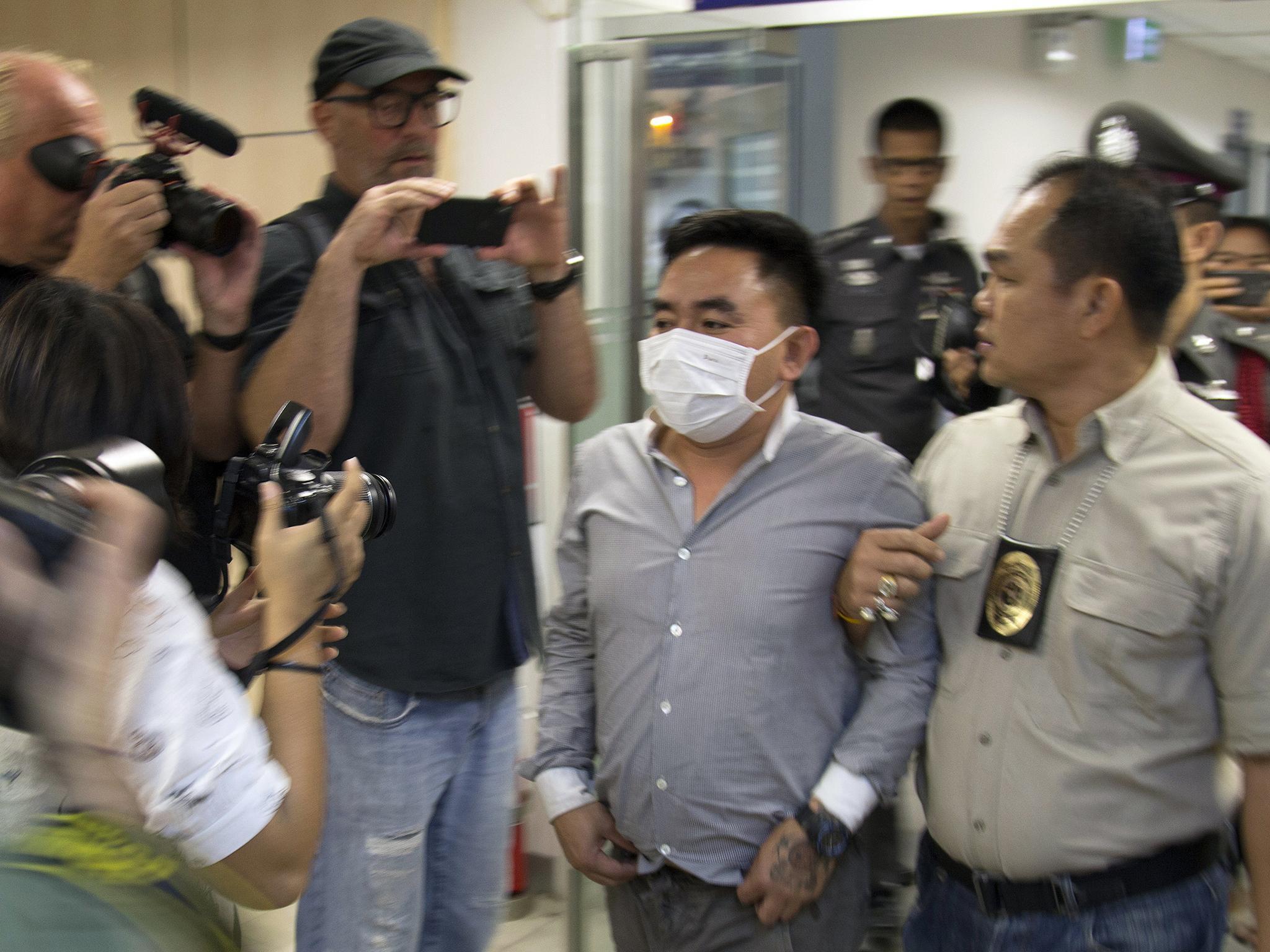 Thai police arrest suspected wildlife trafficking kingpin