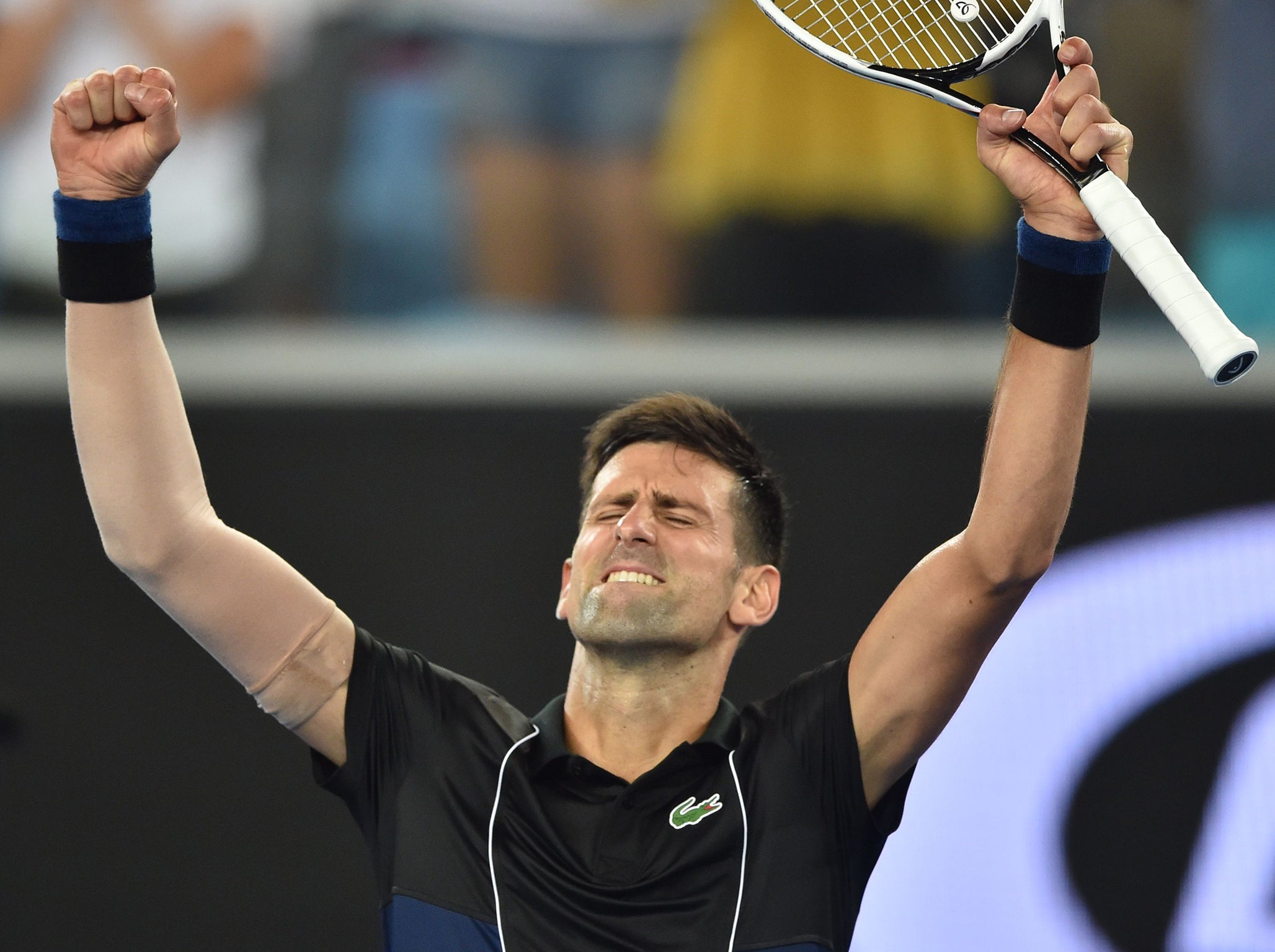 Novak Djokovic through to the last 16 of the Australian Open but fitness doubts surface again