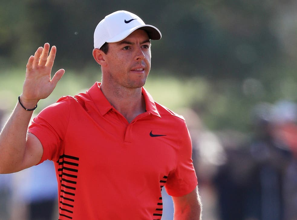 Rory McIlroy is in outstanding form