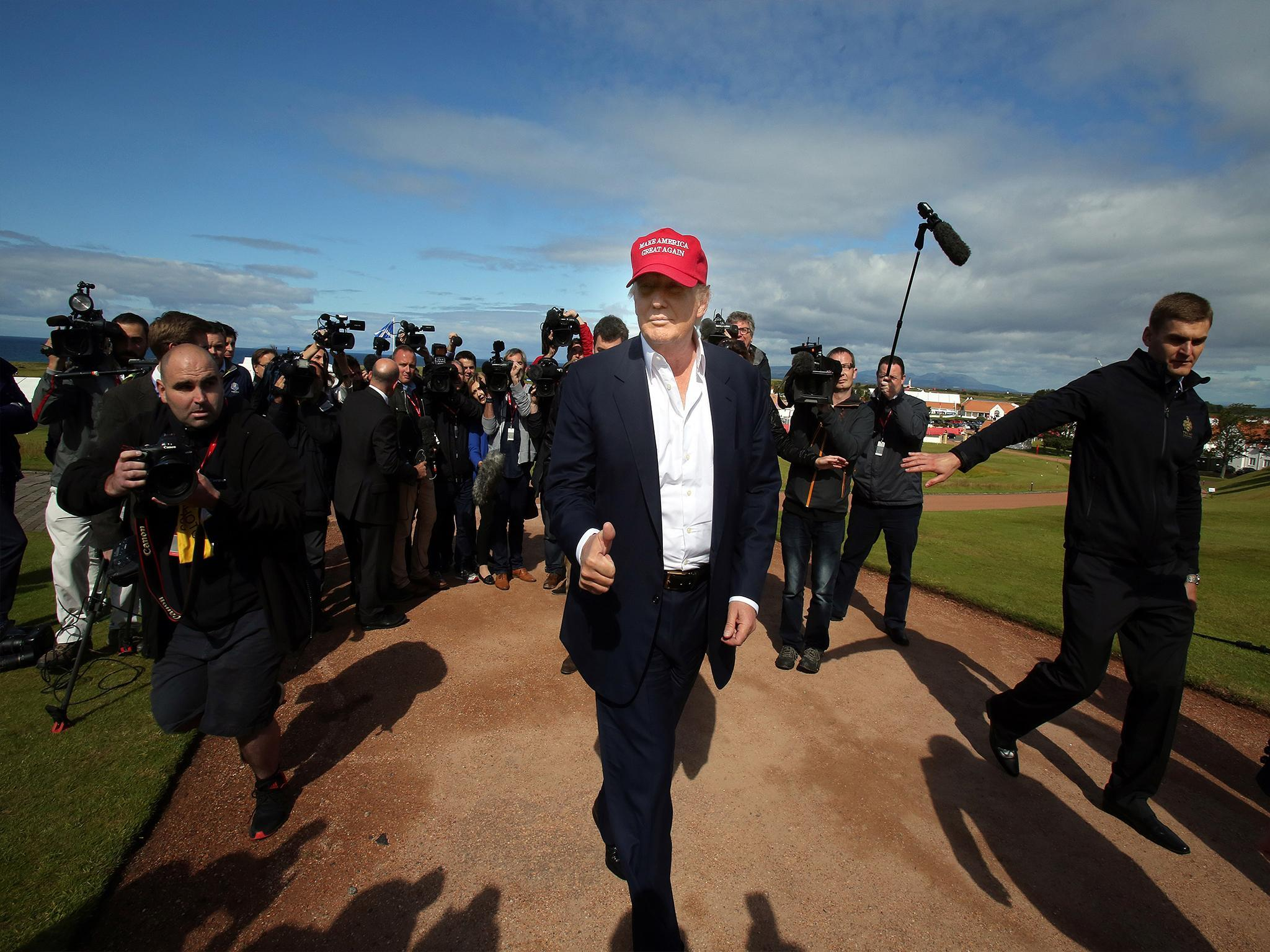 Ireland sends Trump a strong message on climate change over Doonbeg golf course sea wall