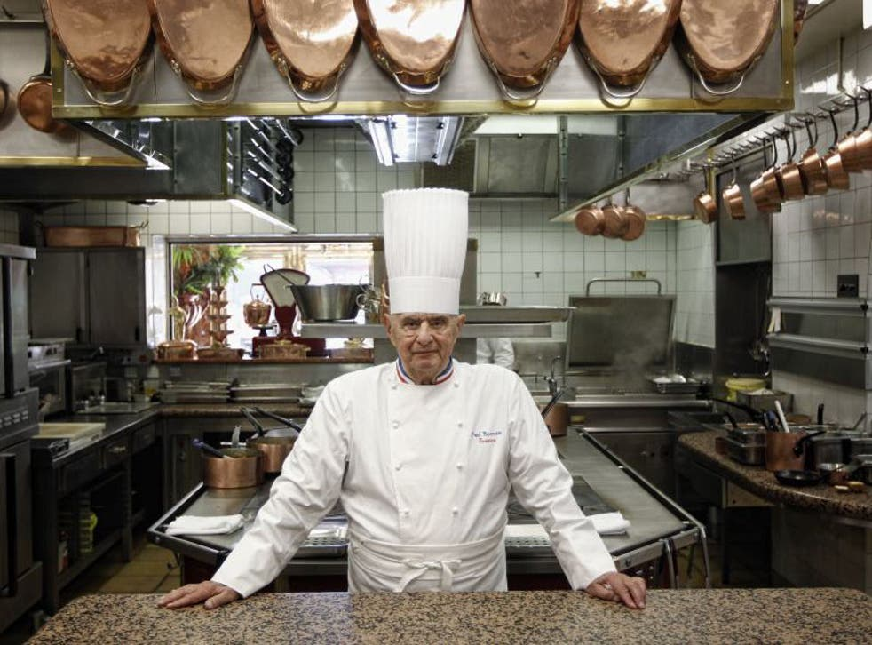 The celebrated chef popularised the 'nouvelle cuisine' movement