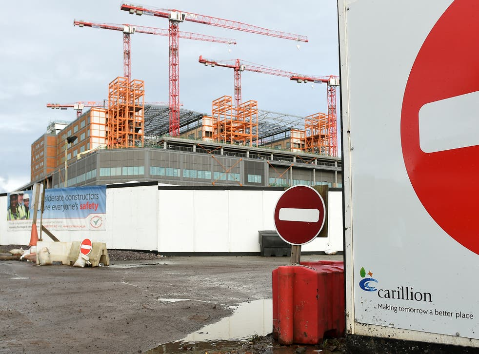 Expectations for the residential sector are upbeat, despite Carillion's collapse