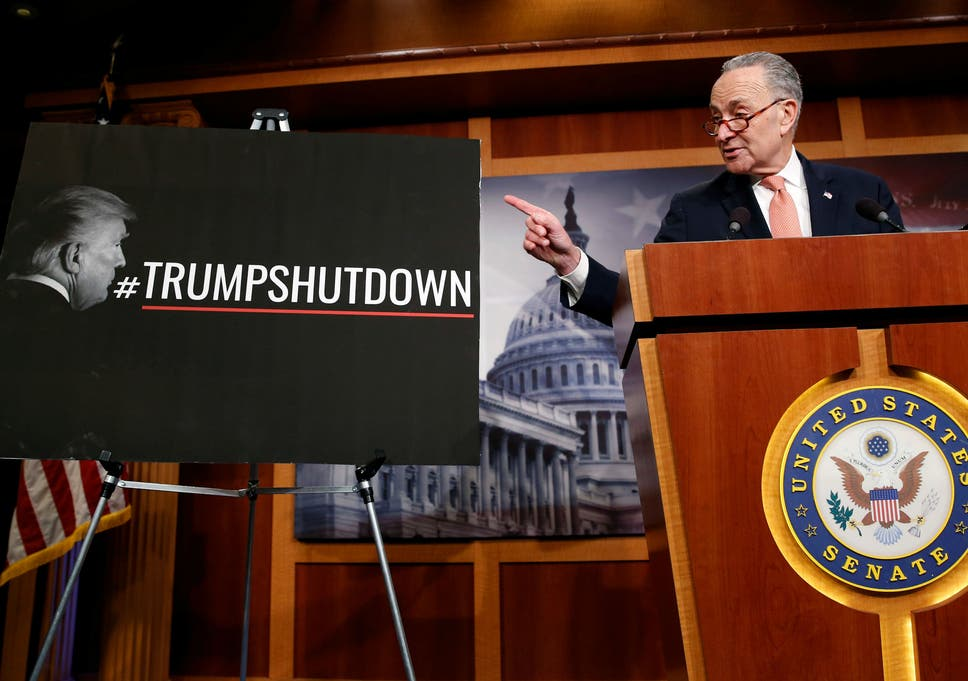 Crazy Of Republicans To Accuse >> Us Government Shutdown Latest Democrats And Republicans Trade Blame