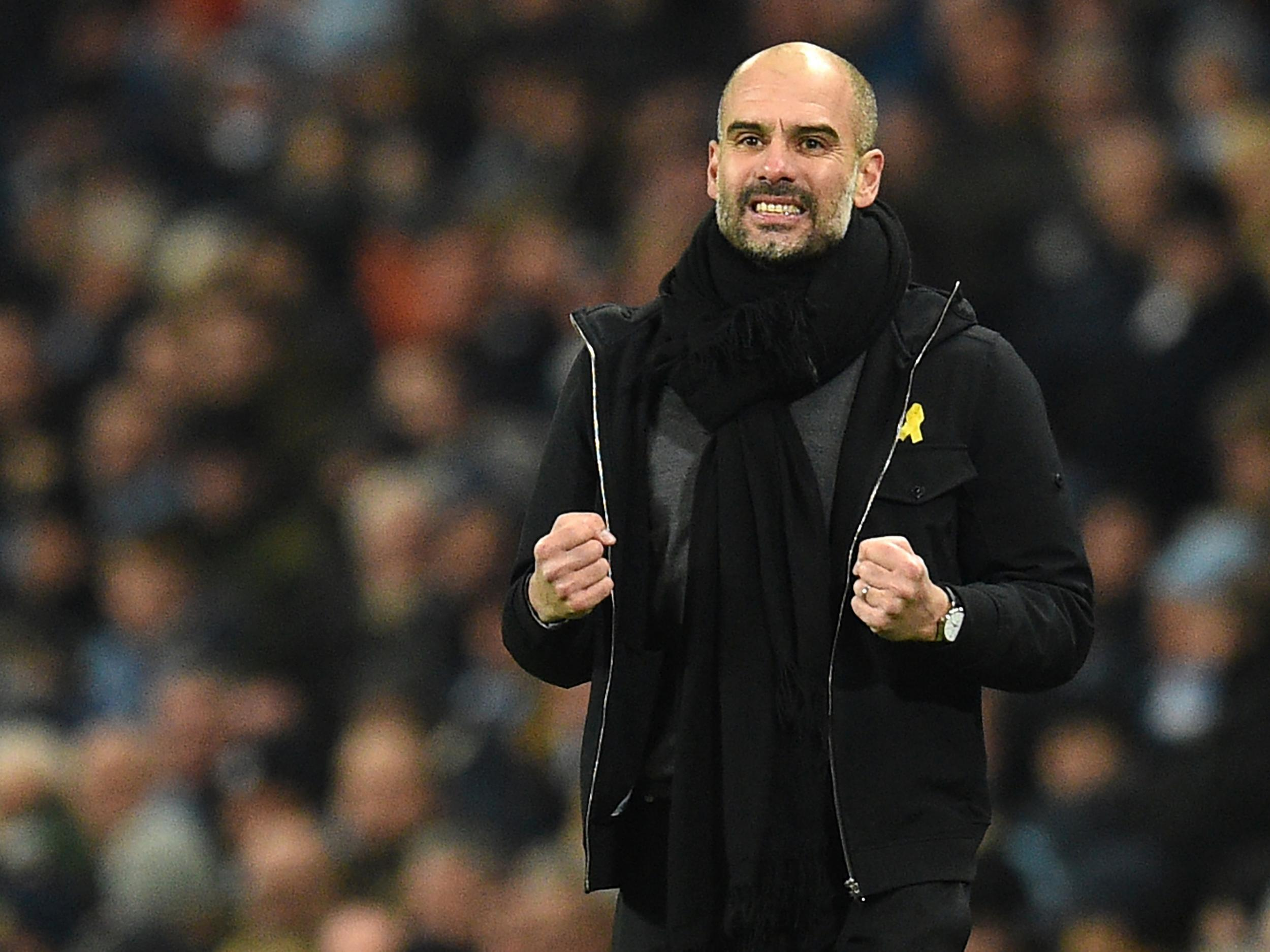 Manchester City manager Pep Guardiola hails his side's mentality after comfortable win over Newcastle