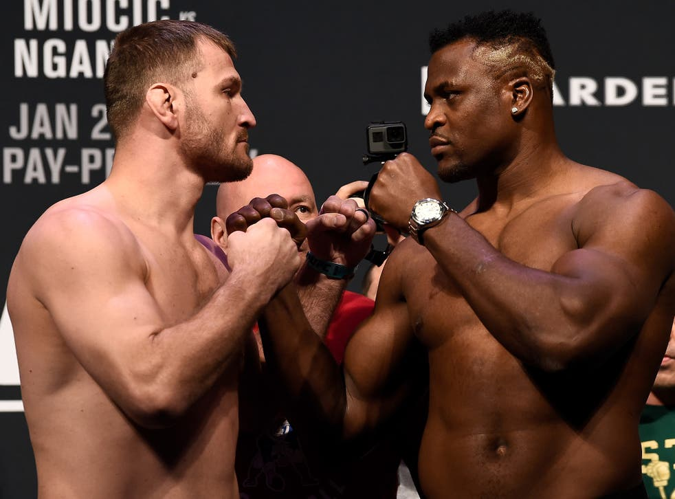 Stipe Miocic and Francis NGannou will go to war at UFC 220