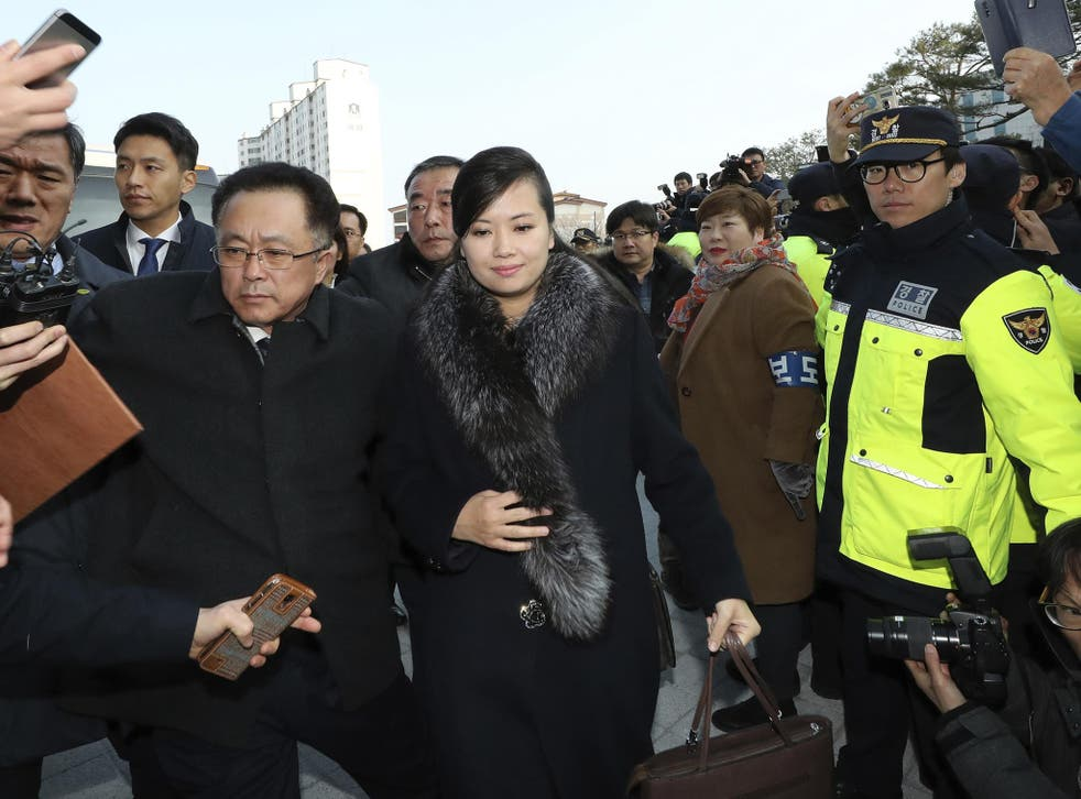 Hyong Song Wol was present for last week's talks which confirmed her music group's two live acts