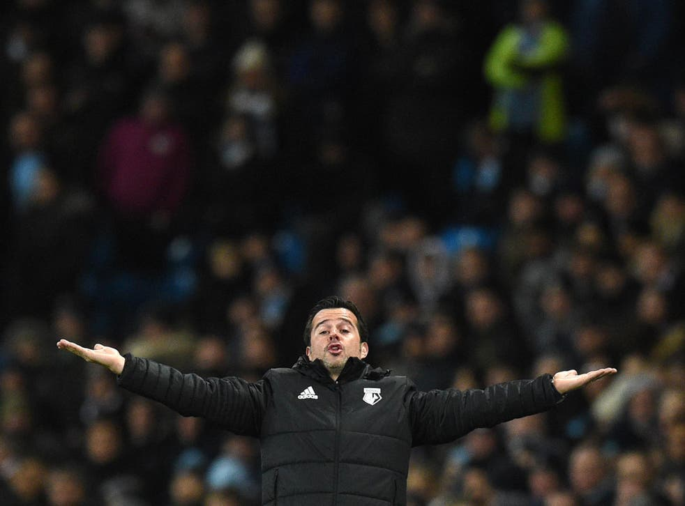 Marco Silva was shocked to be told of his sacking