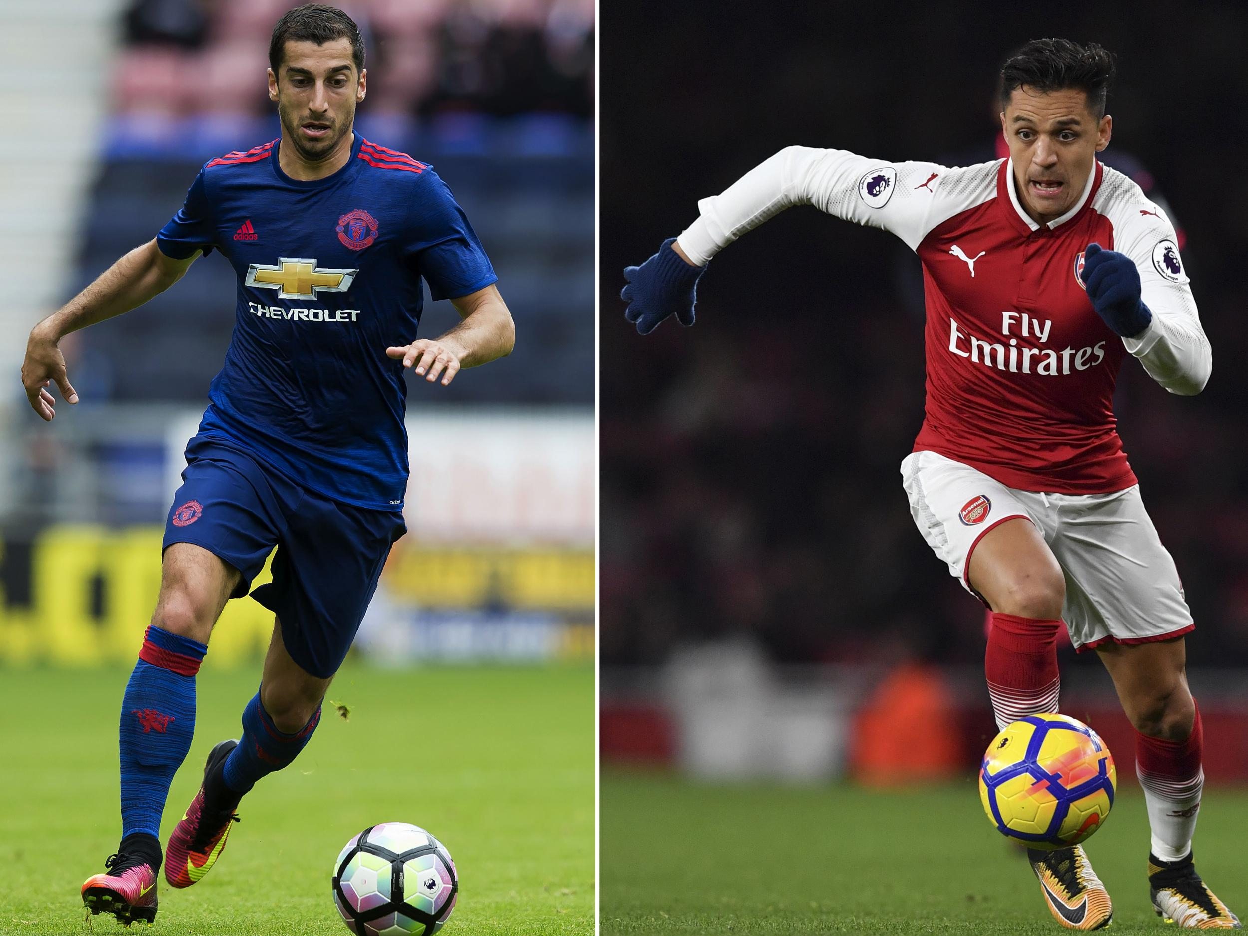 Transfer news LIVE: Alexis Sanchez in Manchester United shirt, Arsenal fly in for Aubameyang, Liverpool latest