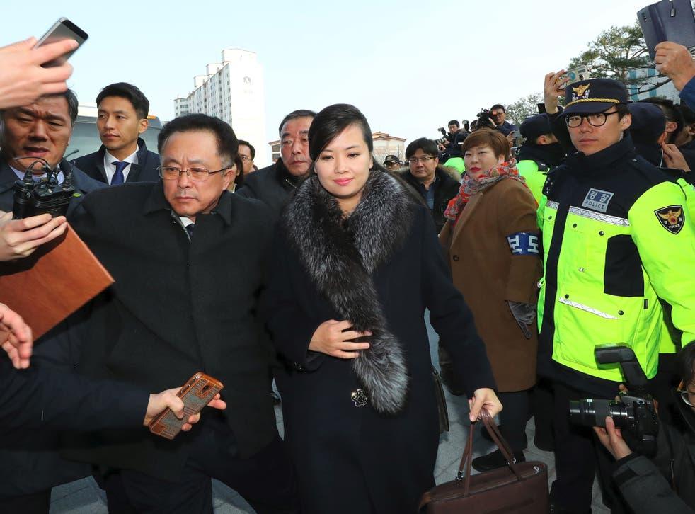 Singer Hyon Song-wol led a North Korean delegation to Seoul