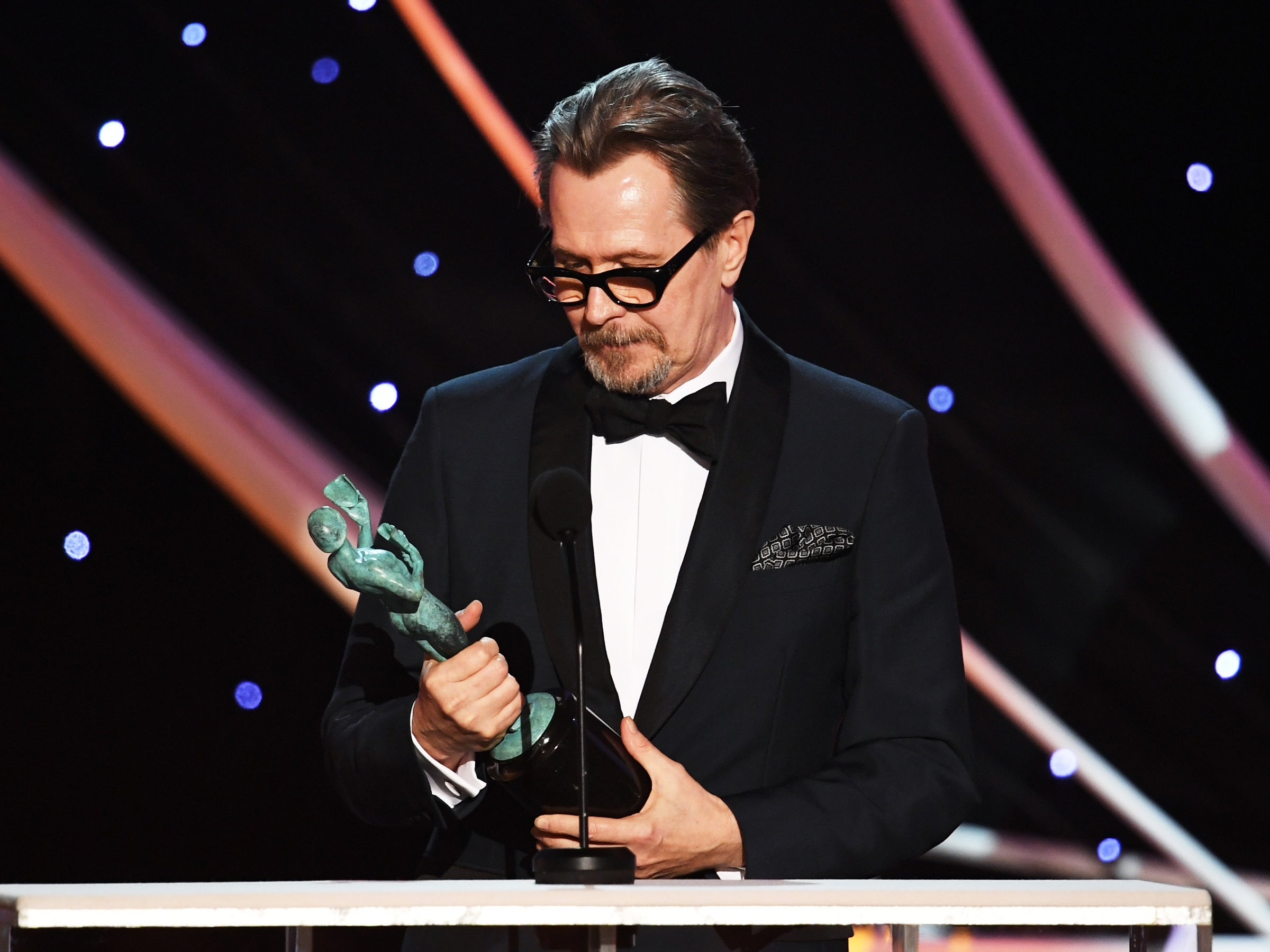 Gary Oldman is the Oscars Best Actor frontrunner following SAG win