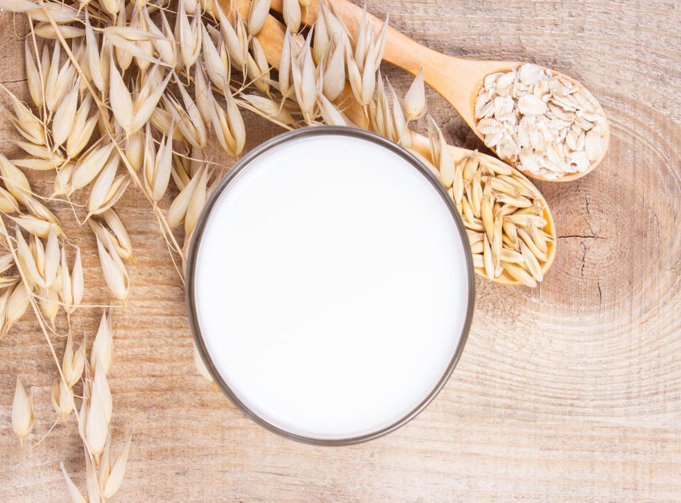 Almond, cashew, hazelnut, macadamia – there's a milk made from each. But oats use six times less water to grow than almonds, making it a far better option