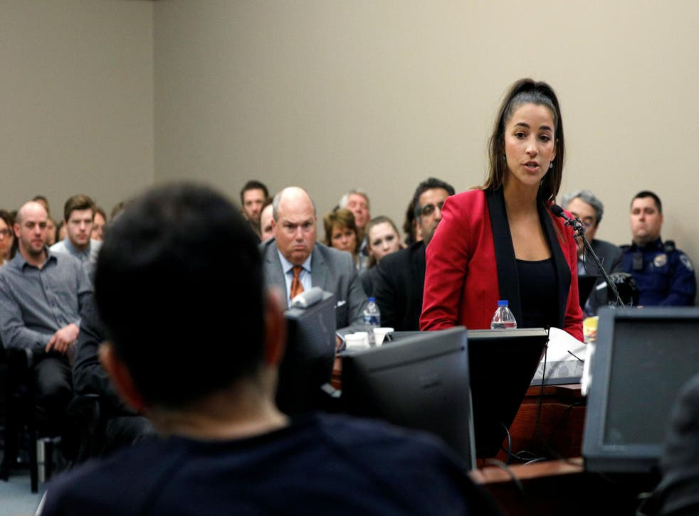 Aly Raisman confronted Larry Nassar and told him 'You are nothing'