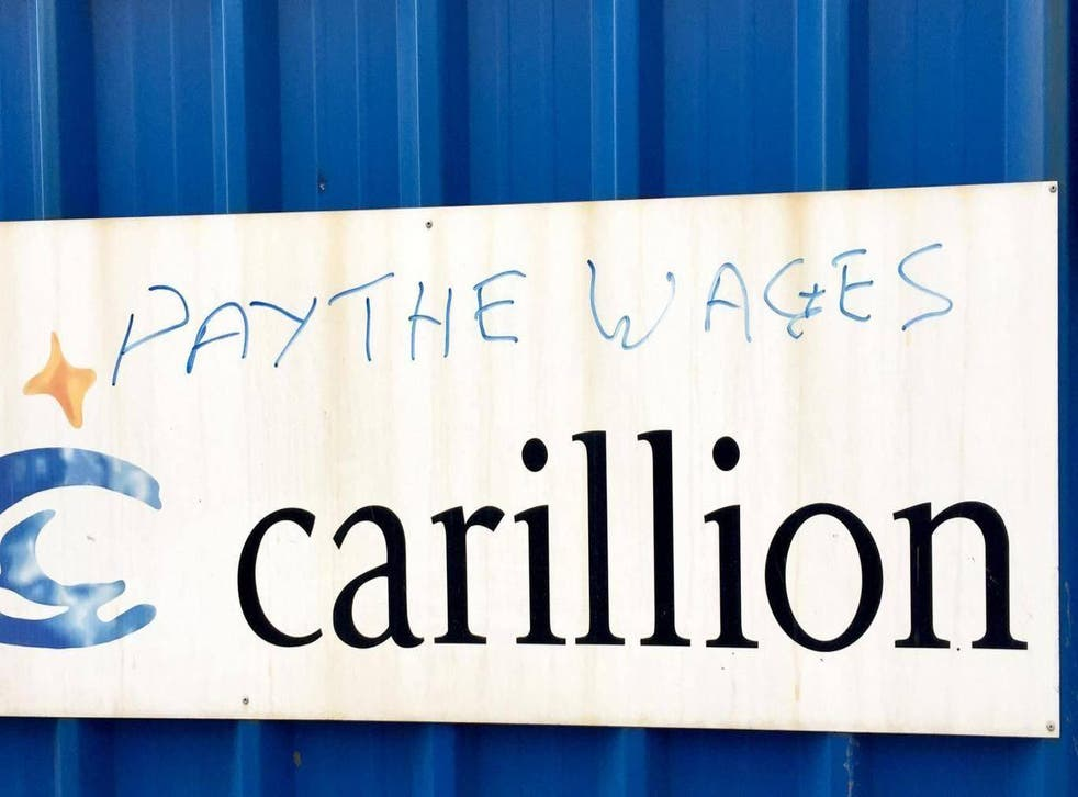 The collapse of Carillion has prompted protests - and demands for action to prevent a repeat