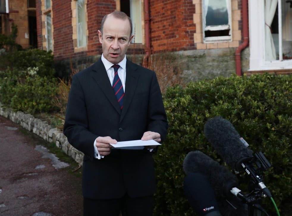 Henry Bolton lashed out at coverage of his private life