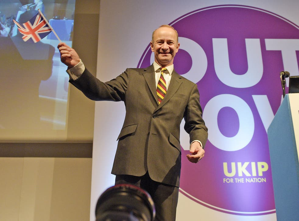 Ukip high command appear disappointed their leader did not suspect one of their own members is a racist