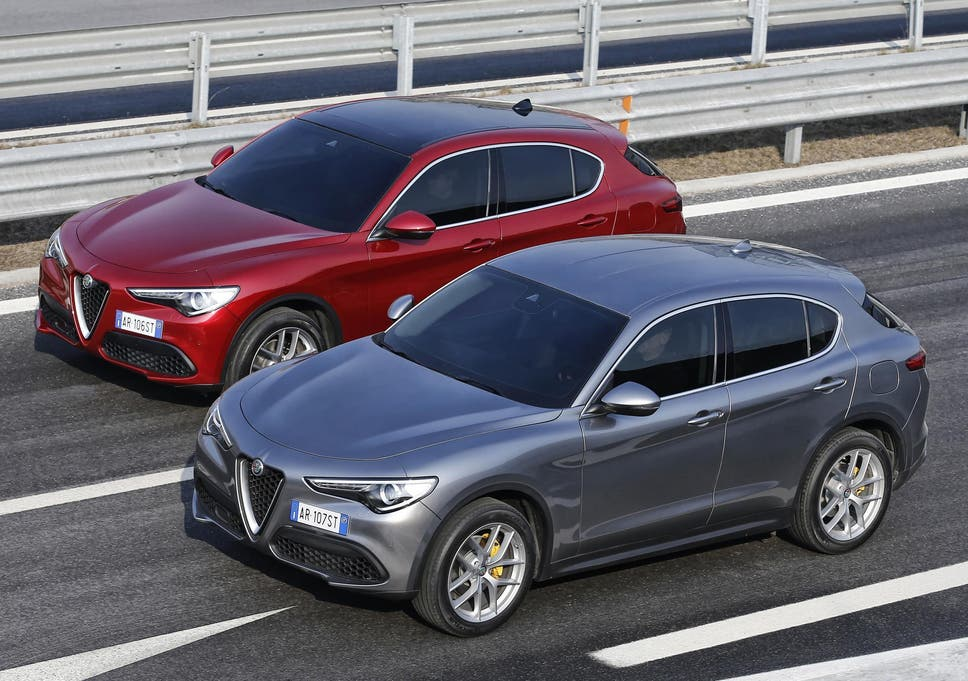 Car Review Alfa Romeo Stelvio The Independent