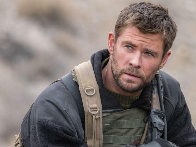 Chris Hemsworth plays Captain Mitch Nelson, sent to Afghanistan after the 9/11 attacks in '12 Strong'