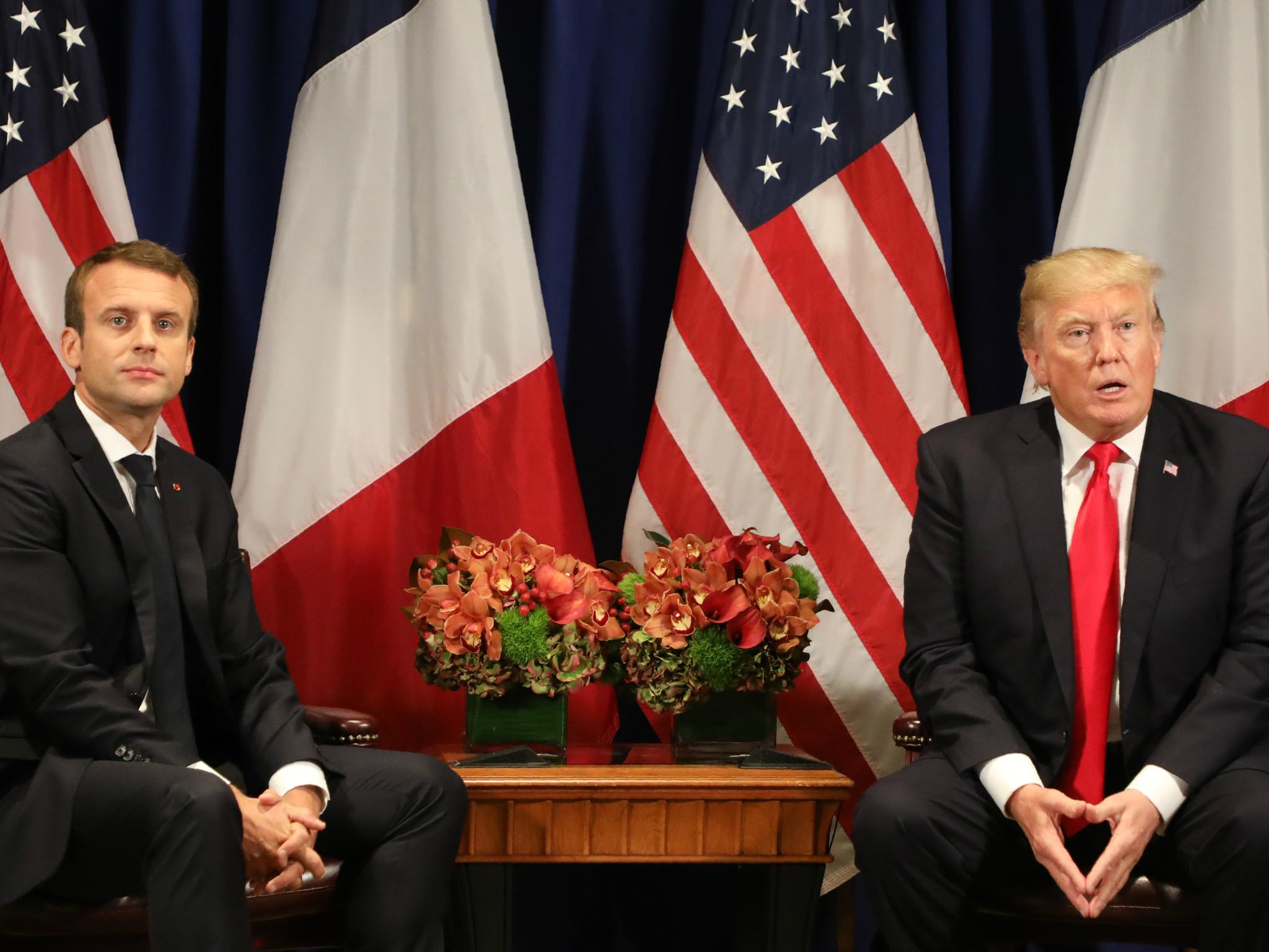 Donald Trump to host France's Emmanuel Macron in first state visit of his presidency