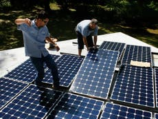 Solar panel CEO blames Trump tariff for layoffs | The