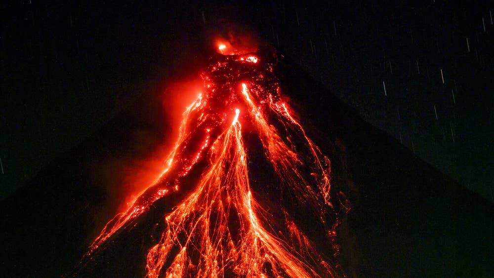 short note on volcano