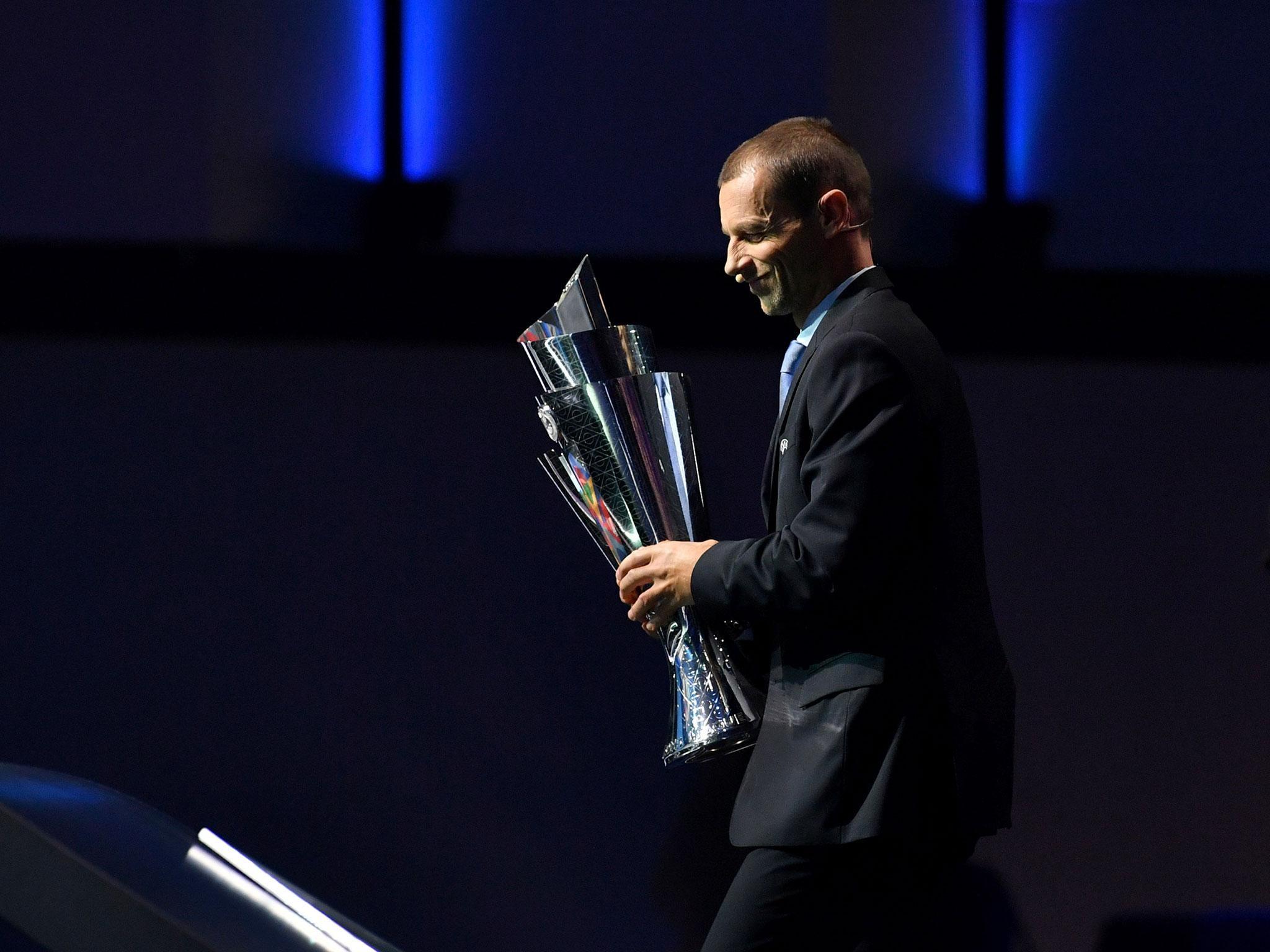England drawn alongside Croatia and Spain for inaugural Uefa Nations League