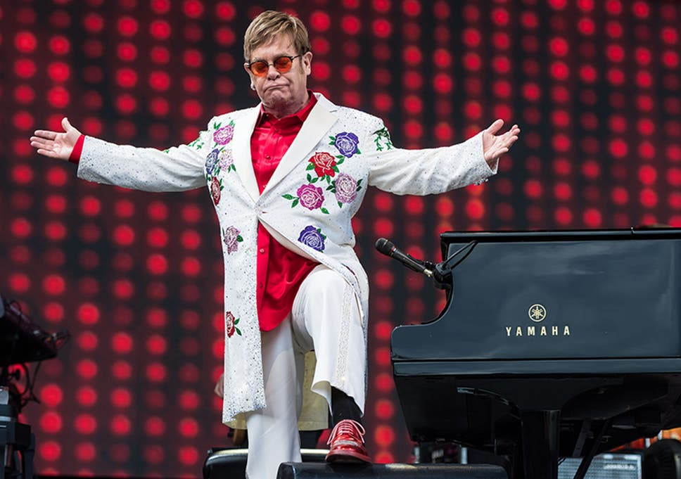 Ð?аÑ?Ñ?инки по запÑ?осÑ? Elton John: 'Being a performer saved my life'